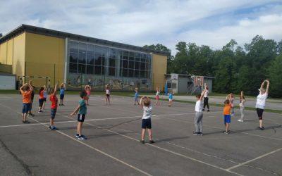 Športni dan – igre z žogo 1. razred